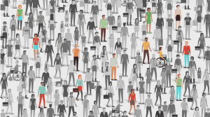 People singled out in a crowd - why do small business fail